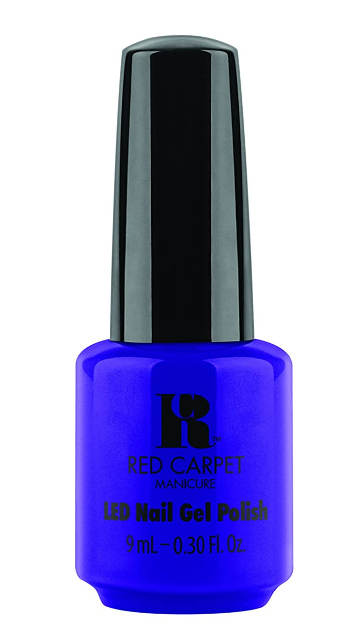 排出コンデンサークリーナーRed Carpet Manicure - LED Nail Gel Polish - Re-Luxe A Little - 0.3oz/9ml