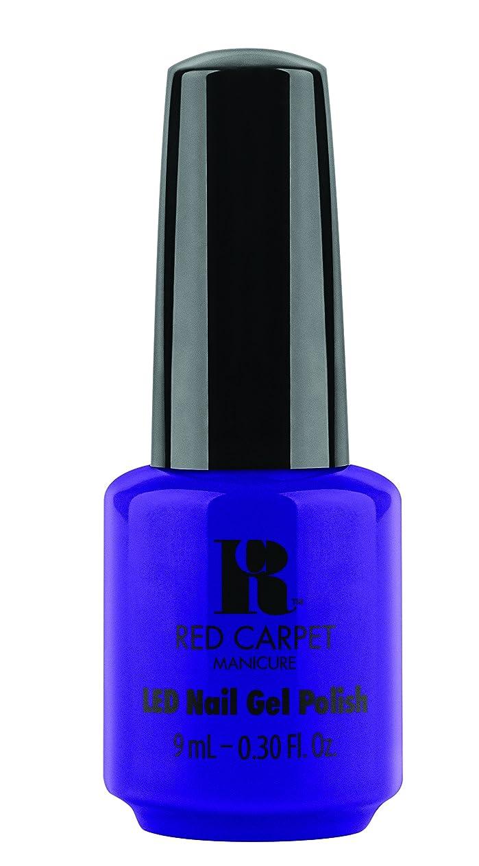 許す動物園凝視Red Carpet Manicure - LED Nail Gel Polish - Re-Luxe A Little - 0.3oz/9ml