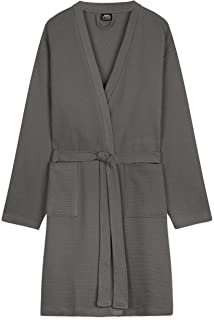 CityComfort Mens Dressing Gowns, Cotton Dressing Gown, Waffle Robe M-3XL