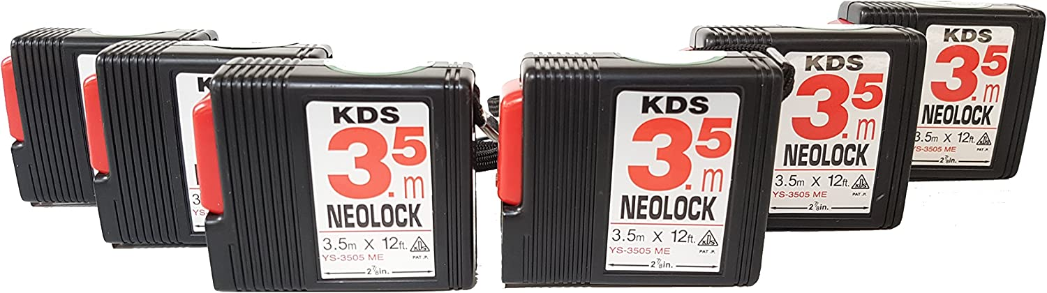 KDS New life YS-3505ME - Measuring Tape A.B.S. NEO Case Ranking TOP20 Steel LOC Plastic