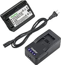 Kastar LED Super Fast Charger & Camcorder Battery x1 for Panasonic VW-VBK180 HC-V700 HDC-HS60 HS80 SD40 SD60 SD80 SD90 SDX1H TM40 TM41 TM55 TM80 TM90 SDR-H100 H101 H85 S50 S70 S71 SDR-T50 T70 T71 T76