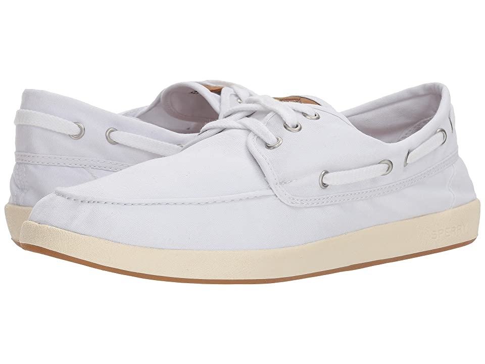 Sperry Drift Boat 3-Eye (White) Men