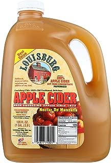 Louisburg Cider Mill, Juice Cider Apple, 128 Fluid
