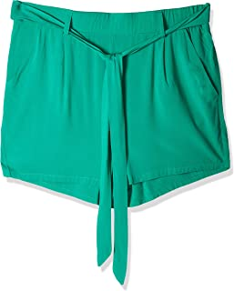 Only Shorts Solid Green