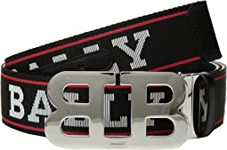 Bally - Mirror B 45 Logo Belt