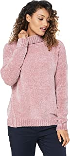 French Connection Women's Chenille Turtle Neck Jumper