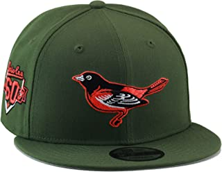 3635ad955739f New Era 9fifty Baltimore Orioles Snapback Hat Cap Army Green Orange