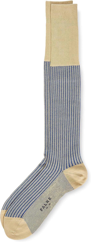 Homme Falke Oxford Stripe Chaussettes Montantes