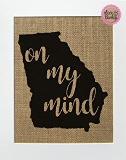 georgia on my mind gifts
