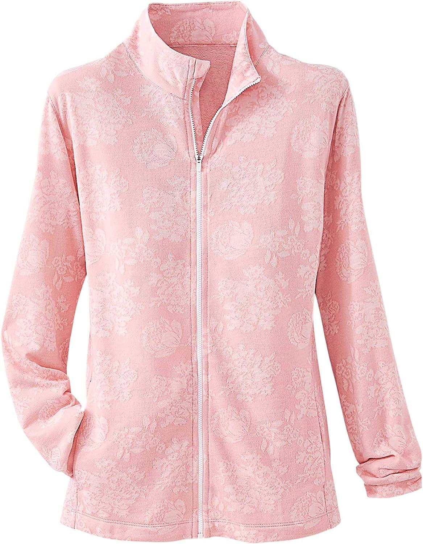 National Indefinitely Product Floral Jacquard Jacket