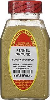 FENNEL SEED GROUND FRESHLY PACKED IN LARGE JARS, spices, herbs, seasonings
