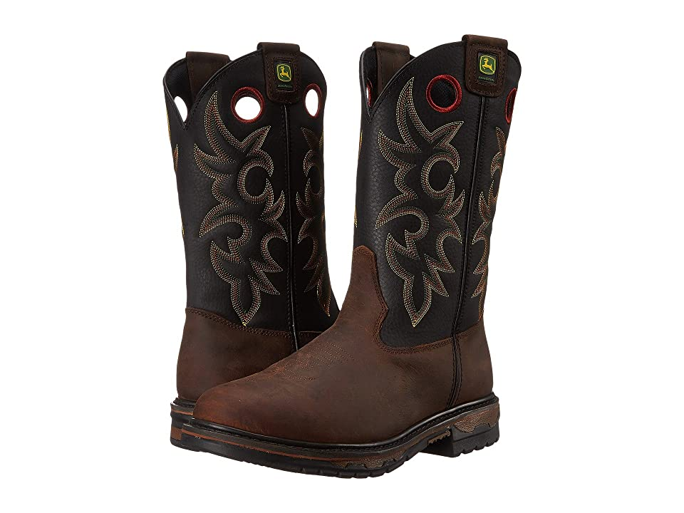 John Deere Steel Toe (Brown Bison) Men