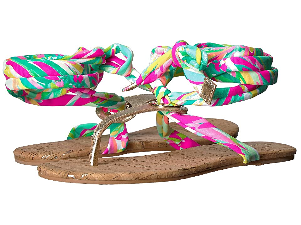 Lilly Pulitzer Harbor Sandal (Multi Shady Lady) Women