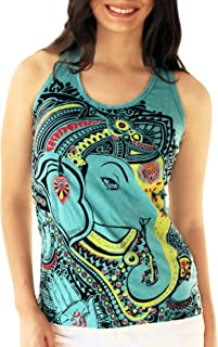 Yoga Tees - Omtimistic Women's Casual Ganesh Tank Top