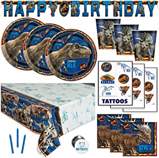 Jurassic World Birthday Party Supplies