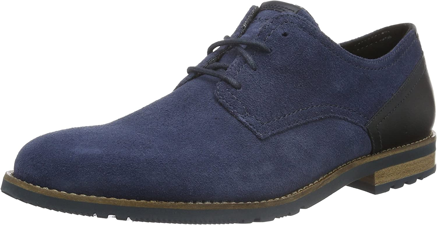 Rockport Men's Ledge Hill Too Plain Toe bluecher Derbys