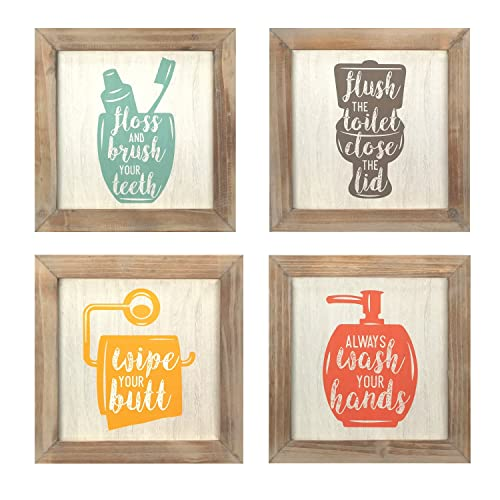 Bathroom Wall Decor Amazon Com