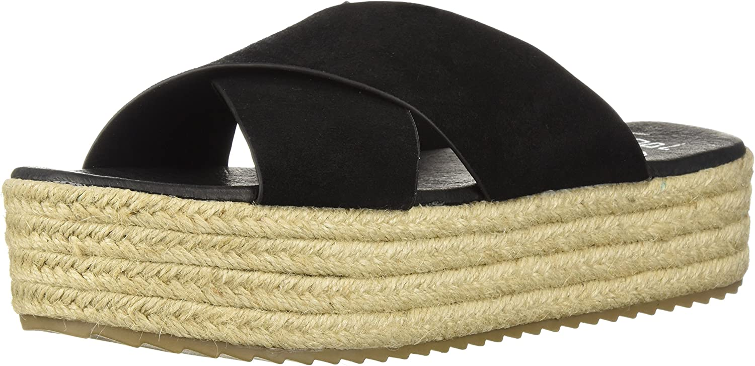 Coolway Womens Emma Espadrille Wedge Sandal