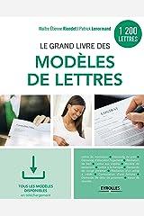 Le grand livre des modèles de lettres: 1200 modèles - Tous les modèles en téléchargement (EYROLLES) Format Kindle