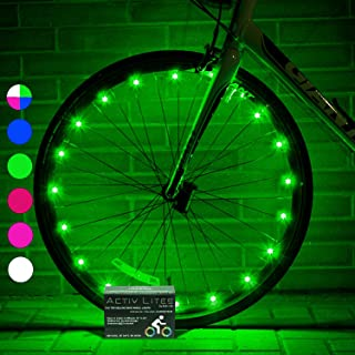 Activ Life LED Bike Wheel Lights with Batteries Included!...