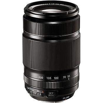 Fujinon XF55-200mmF3.5-4.8 R LM OIS Zoom Lens by Fujifilm - Black