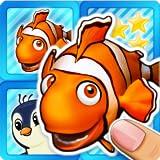 Pares Memo juego de puzzle océano animales y peces de colores para niños pequeños y preescolares gratis - Entrena tu memoria y habilidades de los niños coinciden las fotos de animales pares