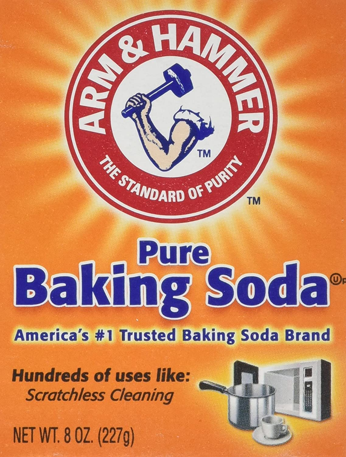 Arm and Mail order cheap Hammer Pure Baking Spring new work Soda 227 by pack 8 g Hamme of