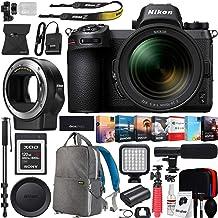 Nikon Z6 Mirrorless FX-Format Full-Frame 4K Ultra HD Camera Body (1598) with NIKKOR Z 24-70mm f/4 S Lens Kit and FTZ Mount...