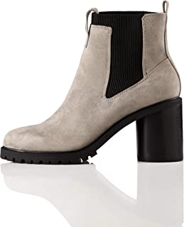 Amazon Brand - find. Chunky Sole, Women's Chelsea Heeled Boots