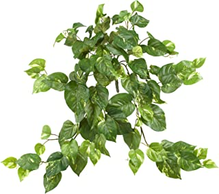 "Nearly Natural 6059-S3 30"" Pothos Hanging Bush (Set of 3), 3 Piece"