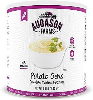 Augason Farms Potato Gems Complete Mashed Potatoes #10 Can, 48 oz