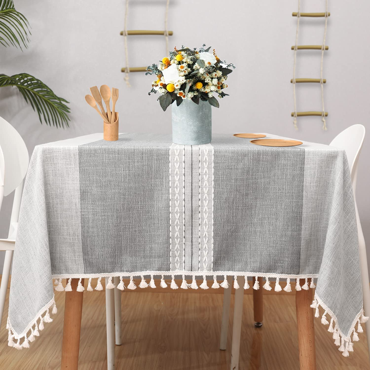 Indianapolis Mall Vailge Farmhouse Tablecloth 55