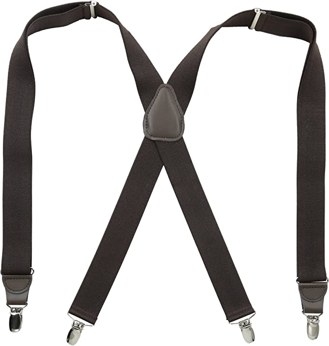 Stacy Adams Mens Button On Suspenders