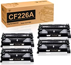 CMYBabee Compatible Toner Cartridge Replacement for HP 26A CF226A Cartridge for HP Laserjet Pro M402n M402dn M402dw M402d HP Laserjet Pro MFP M426dw M426fdw M426fdn Printer(Black, 4-Pack)