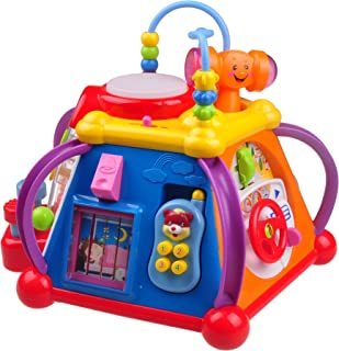 Musical Learning Toy for Toddlers TG654 - Children's Musical Activity Play Center with Lights & Sounds – Learning Toys for Boys & Girls Toddlers Aged 2 3 4 by ThinkGizmos (Trademark Protected)