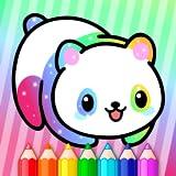Desenhos animados educativos brilhantes crianças livro para colorir