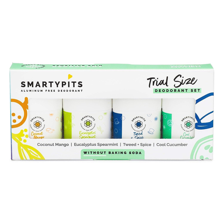 SmartyPits - Long-awaited Mini Limited Special Price Deodorant Sampler Pack Skin Sensitive Formula