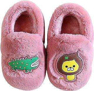 Vorgelen Lindo Unisex Niños Zapatillas de Estar por Casa Invierno Zapatillas Interior Casa Caliente Zapatos Suave Algodón ...