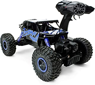 Boley 2099 - Radio Remote Control Monster Truck, 4-Wheel Drive, All-Terrain Climber - Action-Packed RC Car Toy for Boys and Girls - Durable, Easy to Control - Perfect for Gifts and Party Favors!