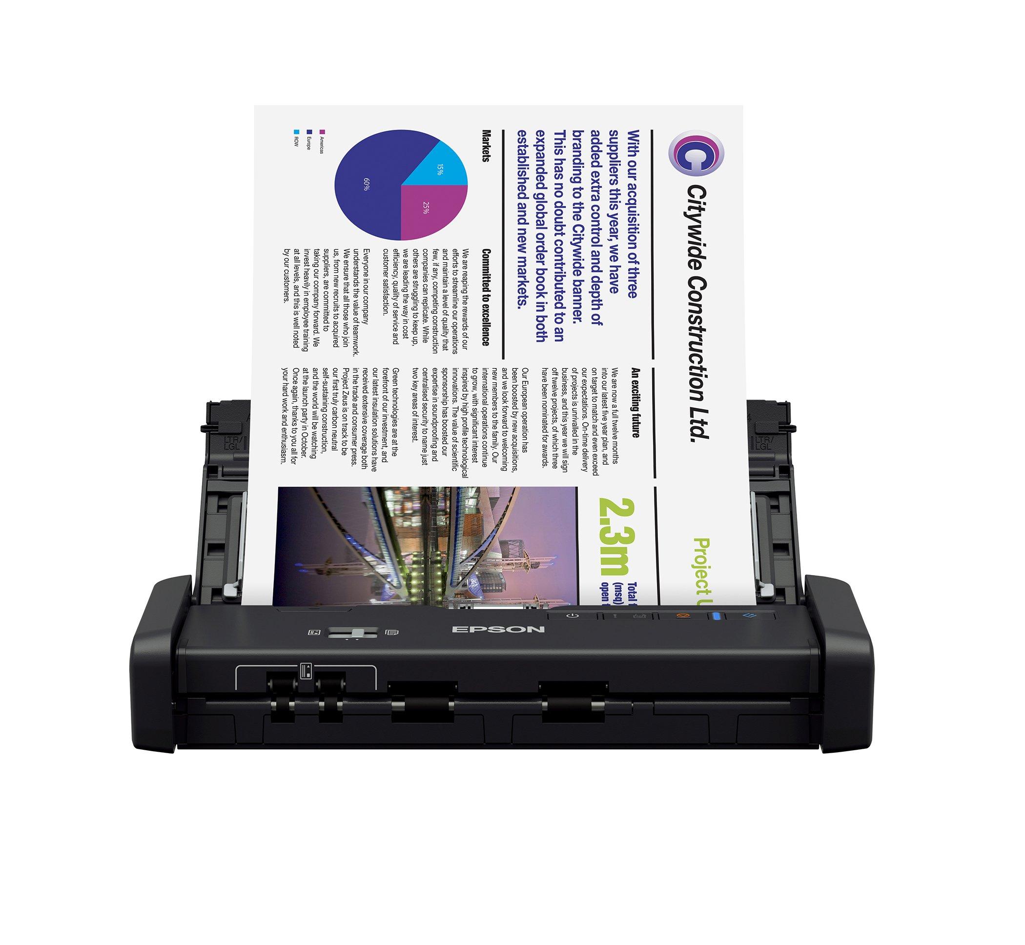 Epson Workforce ES 200 Portable Sheet fed