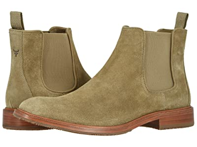 Trask Leo (Taupe English Suede) Men