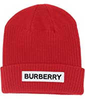 Burberry Kids - Logo Beanie (Little Kids/Big Kids)