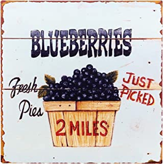 sign for blueberry
