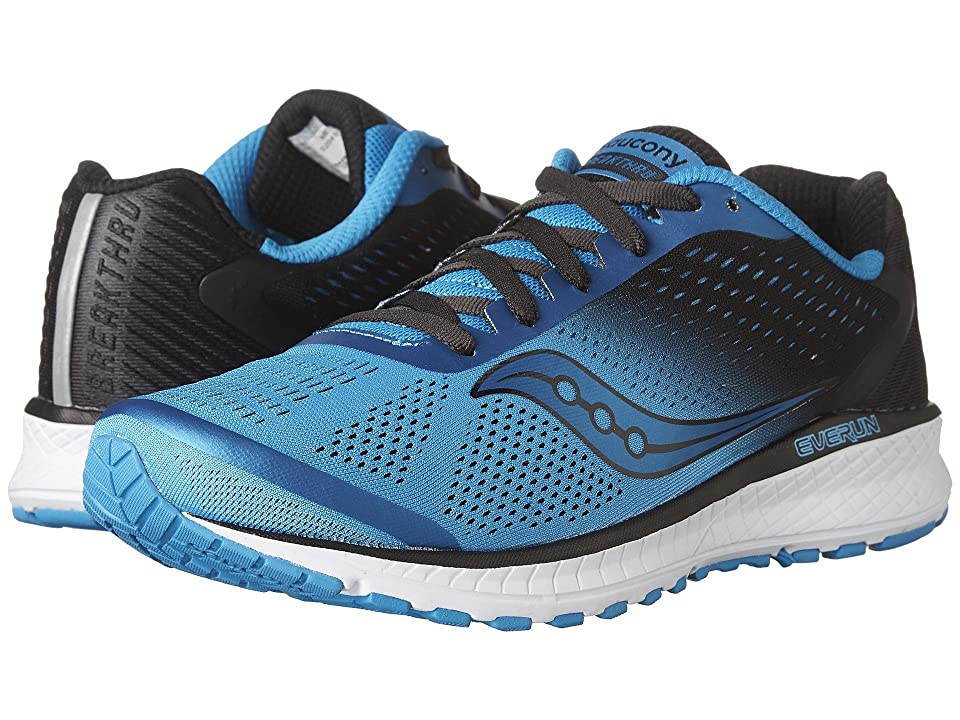 Saucony Breakthru 4 (Blue/Black) Men
