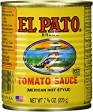 EL PATO Mexican Hot Style Tomato Sauce 7.75 Oz – (6-Pack) by El Pato