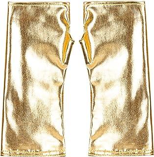 iZHH Women Gloves Winter Wrist Arm Warmer Solid Knitted Long Fingerless Mitten iZHH 1126