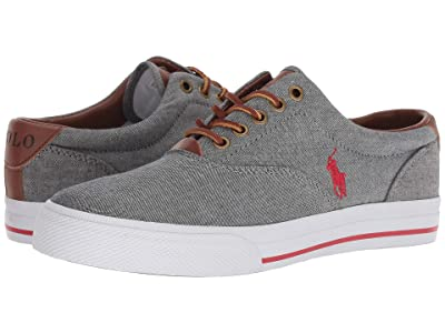 Polo Ralph Lauren Vaughn (Grey/Ralph Lauren Red) Men