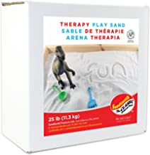 Sandtastik 25 Pound Non-Toxic Less Dust Indoor Coarse Therapy Play Sand