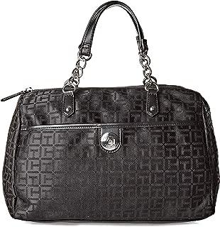 Tommy Hilfiger Tote Bag for Women - Canvas, Black
