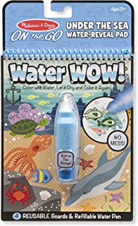 Melissa & Doug On The Go Water Wow! Water-Reveal Activity Pad - Under The Sea
